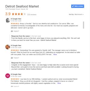 detroit seafood market fake postive google rerviews