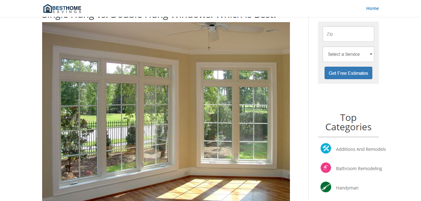 Single hung vs double hung windows which is best best for Best double hung windows reviews