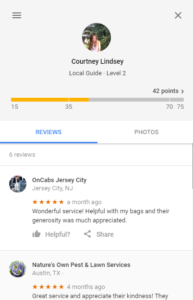 Oncabs Natures Own Pest Control fake review