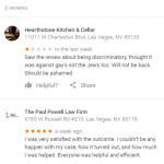 The Paul Powell Law Firm fake review Danny Moseley