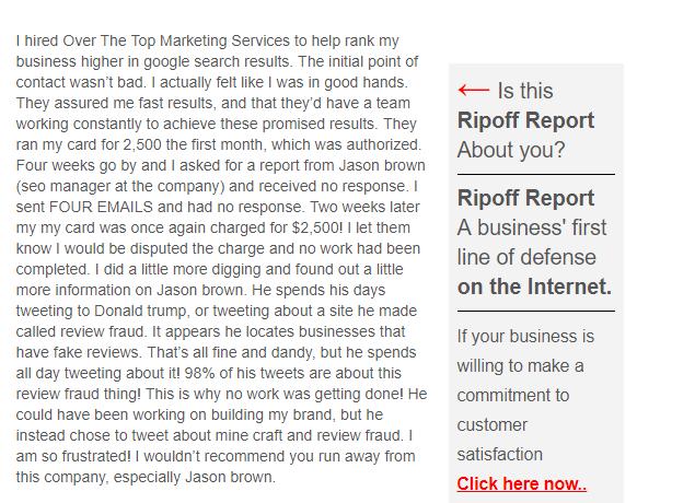 ripoff report ott