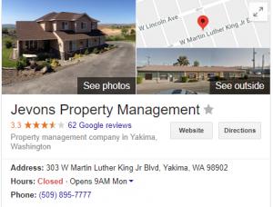 jevons property management 303 W Martin Luther King Jr Blvd Yakima WA 98902 Google Search