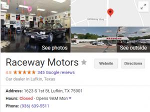 Raceway Motors Lufkin Texas Google Search