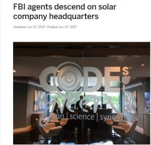 Code Green Solar FBI