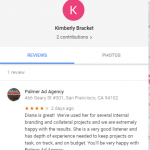 Kimberly Bracket fake 4 star negative review