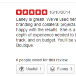 gavin l original positive review from Yelp