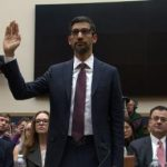 Google CEO Sundar Pichai testifies in front of Congress