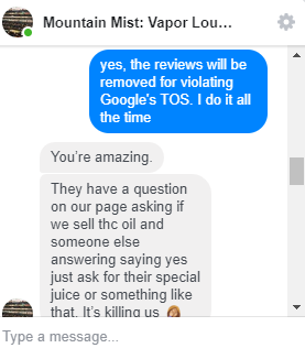 review removal