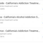 Califronia Addiction Treatment Specialists fake listings