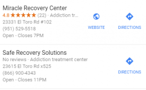 lake forest rehab google search